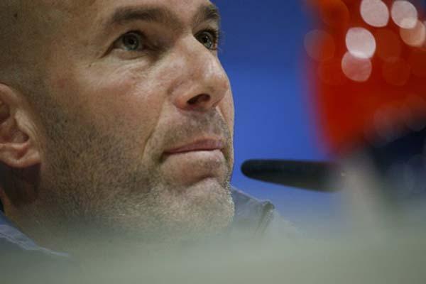 Zinedine Zidane - Reuters/Juan Medina