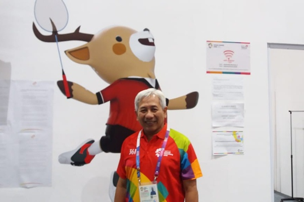 Direktur Media & PR Inasgoc, Danny Buldansyah - Bisnis.com/Nur Faiza