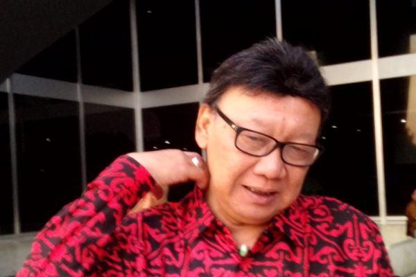 Menteri Dalam Negeri Tjahjo Kumolo - Bisnis/Samdysara Saragih