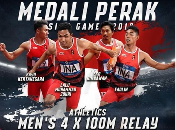 , sprinter asal Nusa Tenggara Barat (NTB), berhasil meraih medali emas dalam IAAF World U20 Championships di Tampere, Finlandia pada Rabu (12/7). - Twitter IAAF