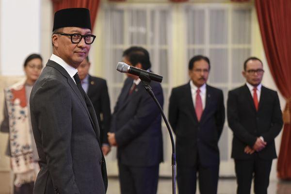 Menteri Sosial Agus Gumiwang Kartasasmita - Antara