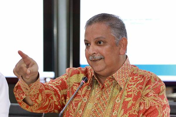 Direktur Utama PLN Sofyan Basir menyampaikan keterangan pers di Jakarta, Senin (16/7/2018). - JIBI/Dwi Prasetya