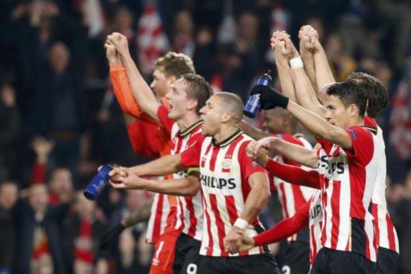 PSV Eindhoven - Reuters/Francois Lenoir