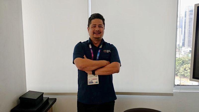 Ketua Deputi II Indonesia Asian Games Organizing Committee (Inasgoc) Francis Wanandi. - Bisnis/Nur Faizah Al Bahriyatul Baqiroh