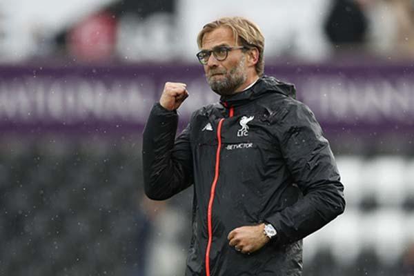 Pelatih Liverpool FC Jurgen Klopp - Reuters/John Sibley