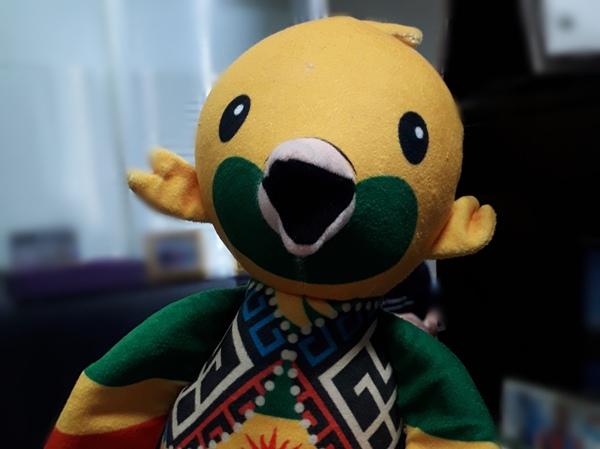 Bhin bhin, maskot Asian Games 2018 - Asian Games 2018