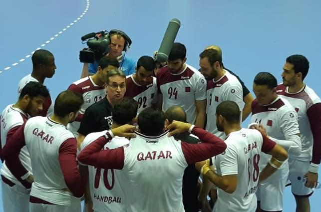 Tim bola tangan putra Qatar - Bisnis.com/Yusran