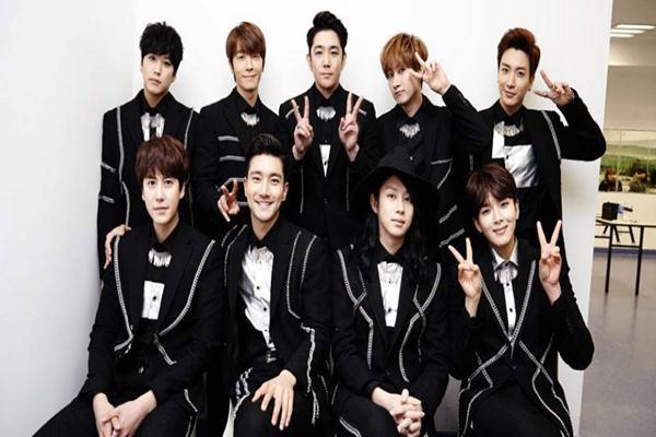 Boyband Super Junior - allkpop