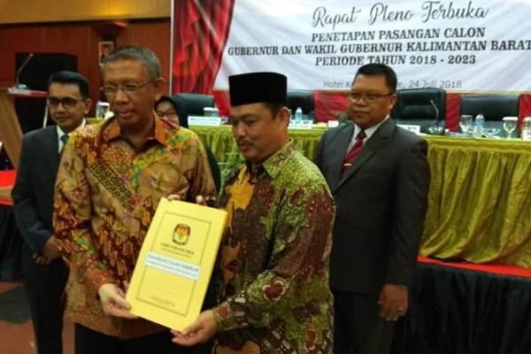 Gubernur dan Wakil Gubernur Kalimantan periode 2018-2023 Sutarmidji dan Ria Norsan - PartaiNasdem