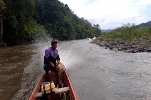 Warga Desa Air Liki, Merangin, Jambi./JIBI/BISNIS - Jaffry Prabu Prakoso