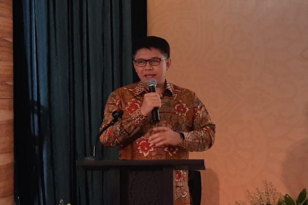 Direktur Utama PT Bank Mandiri Syariah Toni E. Subari. (Bisnis - Nirmala Aninda)