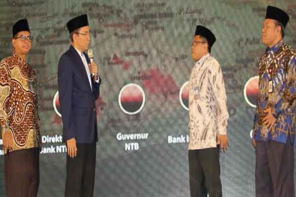 Peresmian Bank NTB Syariah