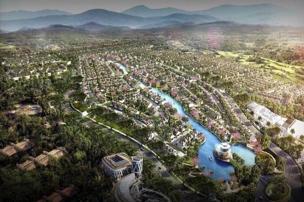 Gambar rencana pengembangan Podomoro Park Bandung. - podomoropark.com