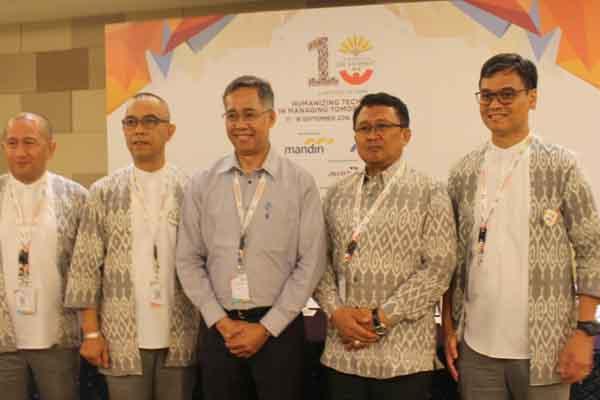 Konferensi Pers The 10th Indonesia HR Summit, Senin (17/9/2018) - Ni Putu Eka Wiratmini