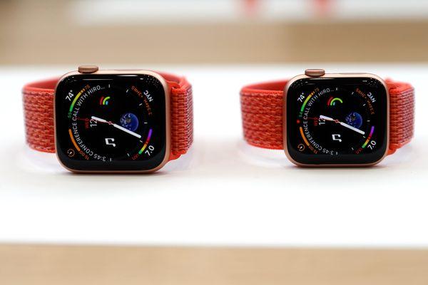 Apple Watch Serie 4. - Reuters/Stephen Lam