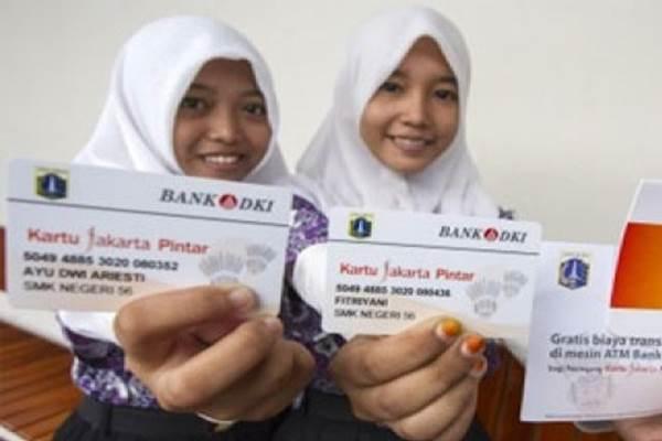Siswa pemilik Kartu Jakarta Pintar - Antara