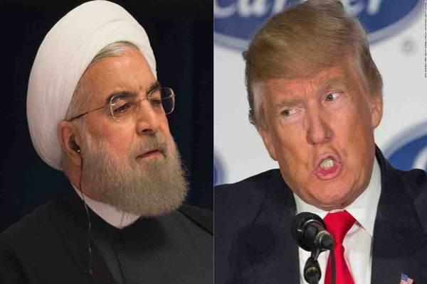 Trump dan Rouhani - Istimewa
