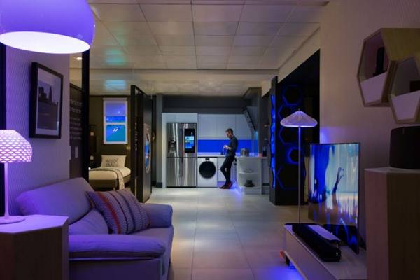 Hunian berkonsep smart living' - Istimewa