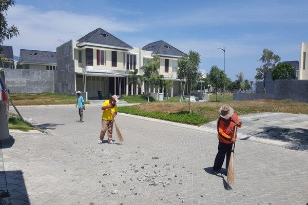 Suasana proyek properti CitraLand Palu setelah terjadi bencana. Kini situasi sudah berjalan normal. - IST