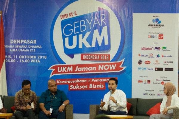 Gebyar UKM 2018 di Denpasar, Kamis (11/10 - 2018).