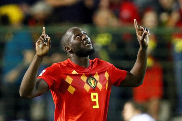 Hasil Nations League Lukaku Cetak 2 Gol Belgia Pimpin Klasemen Bola Bisnis Com