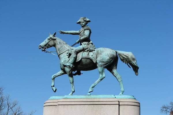 patung Nathanael Greene - Istimewa