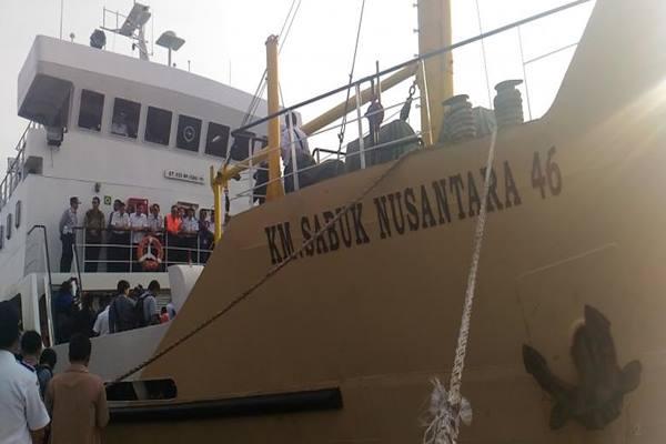 Kapal Perintis KM Sabuk Nusantara 46 akan segera beroperasi melintasi wilayah Kepulauan Seribu. - Indonesia Travel