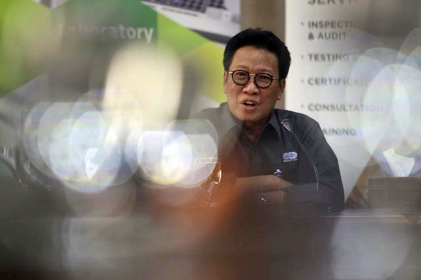 Direktur Utama PT Sucofindo Bachder Djohan Buddin - JIBI/Nurul Hidayat