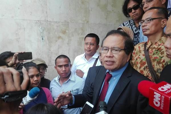 Rizal Ramli menilai perkataannya dipelintir pelapor - Bisnis/Aziz Rahardyan