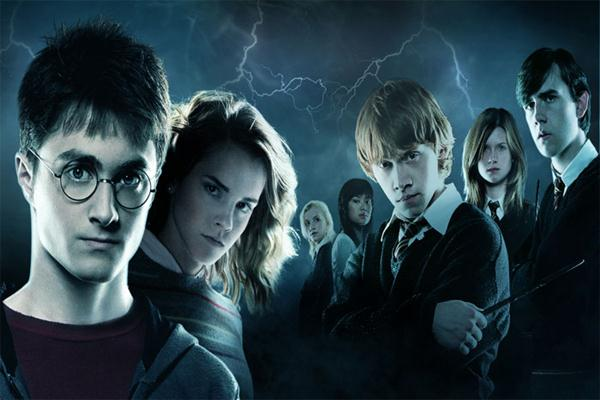 Poster film Harry Potter. - Istimewa