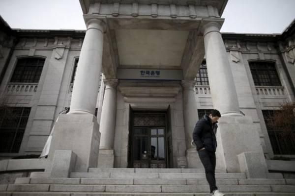 Bank sentral Korea. - Reuters