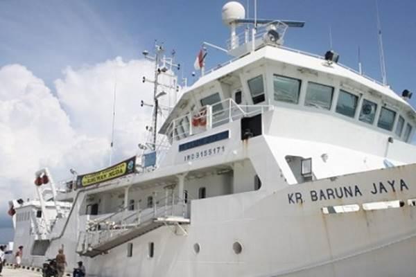 Kapal Riset Baruna Jaya - Antara