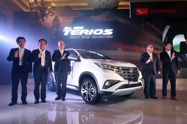Peluncuran All New Terios, Daily New Adventure, di Jakarta, Kamis (23/11/2017). - JIBI/Dedi Gunawan