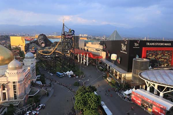 Kawasan Terpadu Trans Studio Bandung. - Istimewa