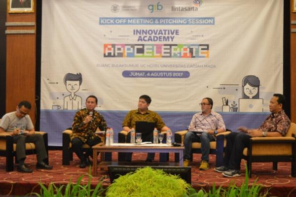 Kegiatan Innovative Academy Appcelerate - UGM.ac.id