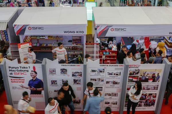 Suasana Sampoerna Retail Community (SRC) Expo di Palembang. - Bisnis/Istimewa