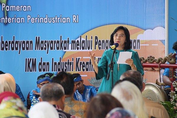 Direktur Jenderal Industri Kecil dan Menengah Kementerian Perindustrian Gati Wibawaningsih