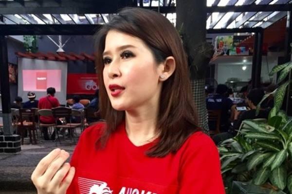 Ketua Umum Partai Solidaritas Indonesia Grace Natalie - ANTARA News/Try Reza Essra