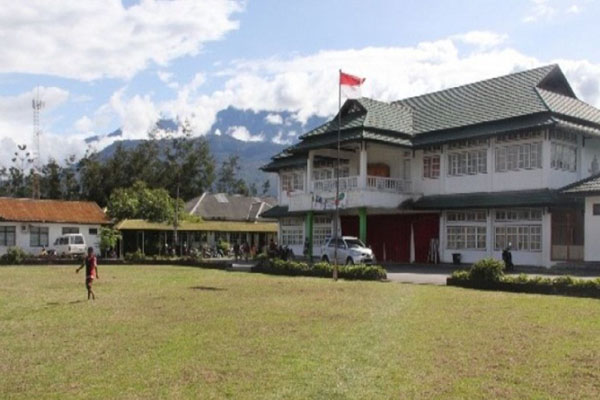 RSUD Wamena, Kabupaten Jayawijaya, Papua. - Antara