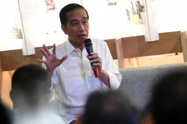 Presiden Joko Widodo - Antara/Wahyu Putro