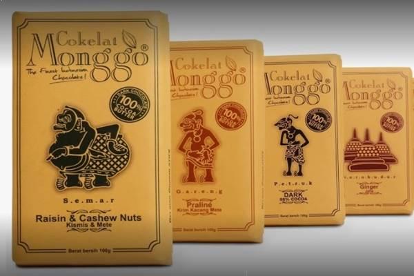 Warga negara Belgia, Thierry Detournay, memproduksi cokelat 'Monggo' di Yogyakarta. - Istimewa