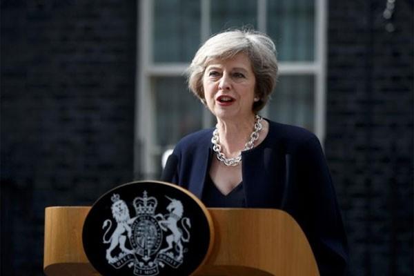 Perdana Menteri Inggris Theresa May - Reuters