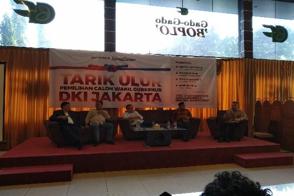 Tarik Ulur Pemilihan Calon Wakil Gubernur DKI Jakarta - Bisnis/Muhamad Wildan