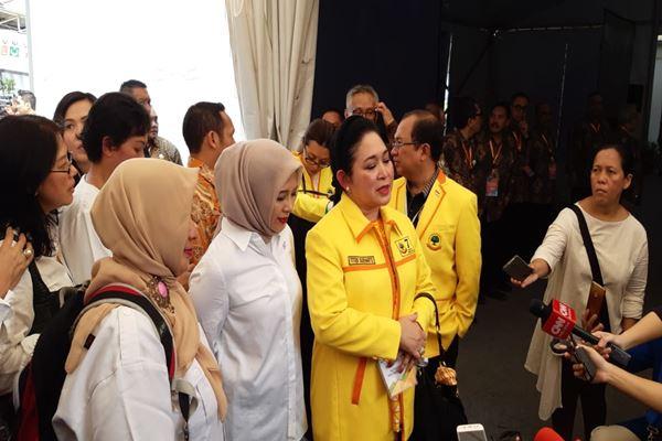 Titiek Soeharto (mengenakan jaket kuning) dari Partai Berkarya - JIBI/Muhammad Ridwan