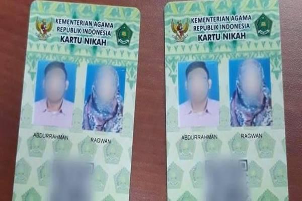 Kementerian Agama mengganti buku nikah menjadi kartu nikah berkode QR. - Istimewa