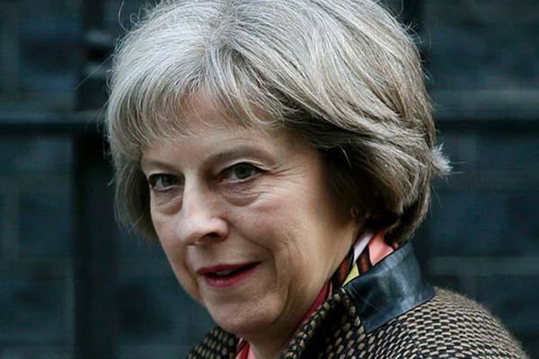 Perdana Menteri Inggris Theresa May - Reuters/Stefan Wermuth