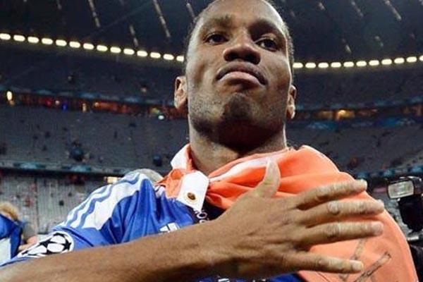 Didier Drogba - Reuters/Dylan Martinez
