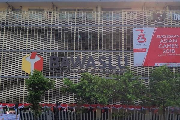 Gedung Badan Pengawas Pemilihan Umum RI di Jakarta. - Bisnis/Samdysara Saragih