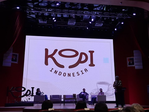 Logo Kopi Indonesia -  Bisnis/Eva Rianti