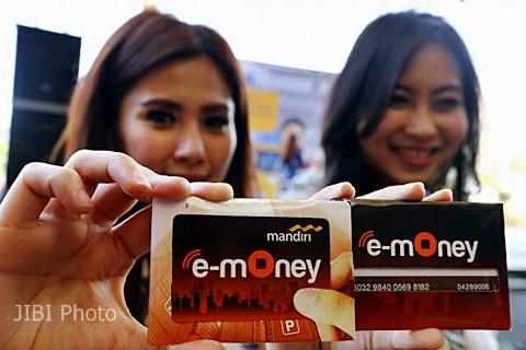 Kartu Mandiri e-money - JIBI/ Abdullah Azzam